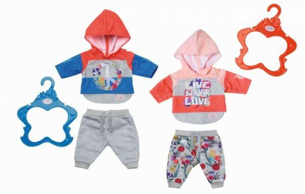 BABY born® Trend Jogginganzug Peace - verschiedene Ausführungen erhältlich