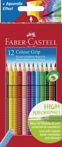Faber-Castell, 12 Farbstifte Colour GRIP