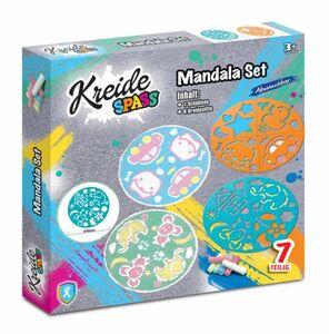Kreidespaß Mandala Set - 4 Motive