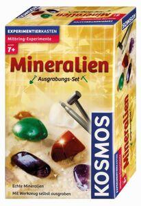 Mineralien Ausgabungsset - Mitbringexperiment