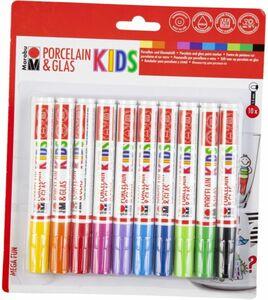 Stifte-Set - Mega Fun Kids - Porzellan & Glas