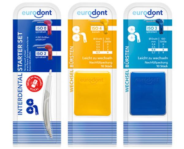 eurodont Interdental Mundpflegeset