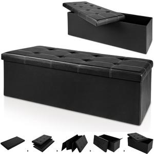 Deuba Sitzbank/Sitztruhe schwarz