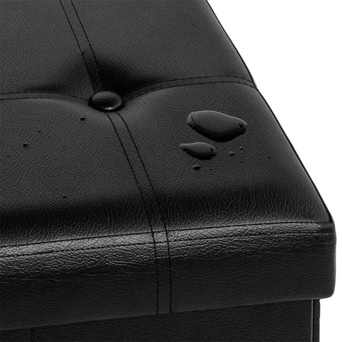 Bild 5 von Deuba Faltbare Sitzbank/Sitzhocker MDF schwarz
