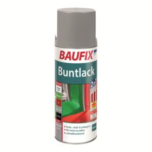 BAUFIX Buntlack Spray silbergrau
