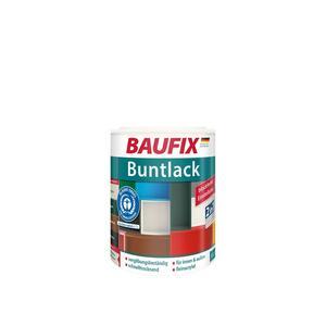 BAUFIX Buntlack seidenmatt schwarz