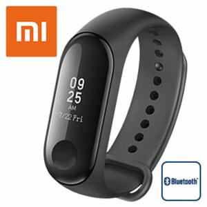 Mi Band 3 · Touch Display  · Herzfrequenz Sensor, Schrittzähler, Kalorienzähler, Schlafanalyse · Smartphone Benachrichtigungen · Wasserdicht bis 50 Meter