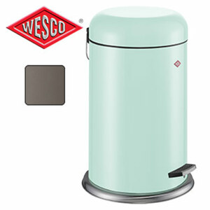 "Treteimer ""Cap Bin"" - in Mint, Cool Grey oder Taupe - ca. 20 Liter Inhalt"