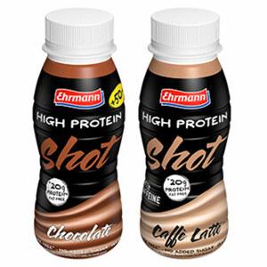 Ehrmann High Protein Shot versch. Sorten, jede 250-ml-Flasche