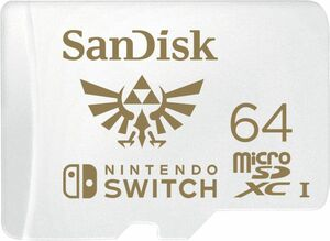 Sandisk microSDXC 64GB UHS-I für Nintendo Switch