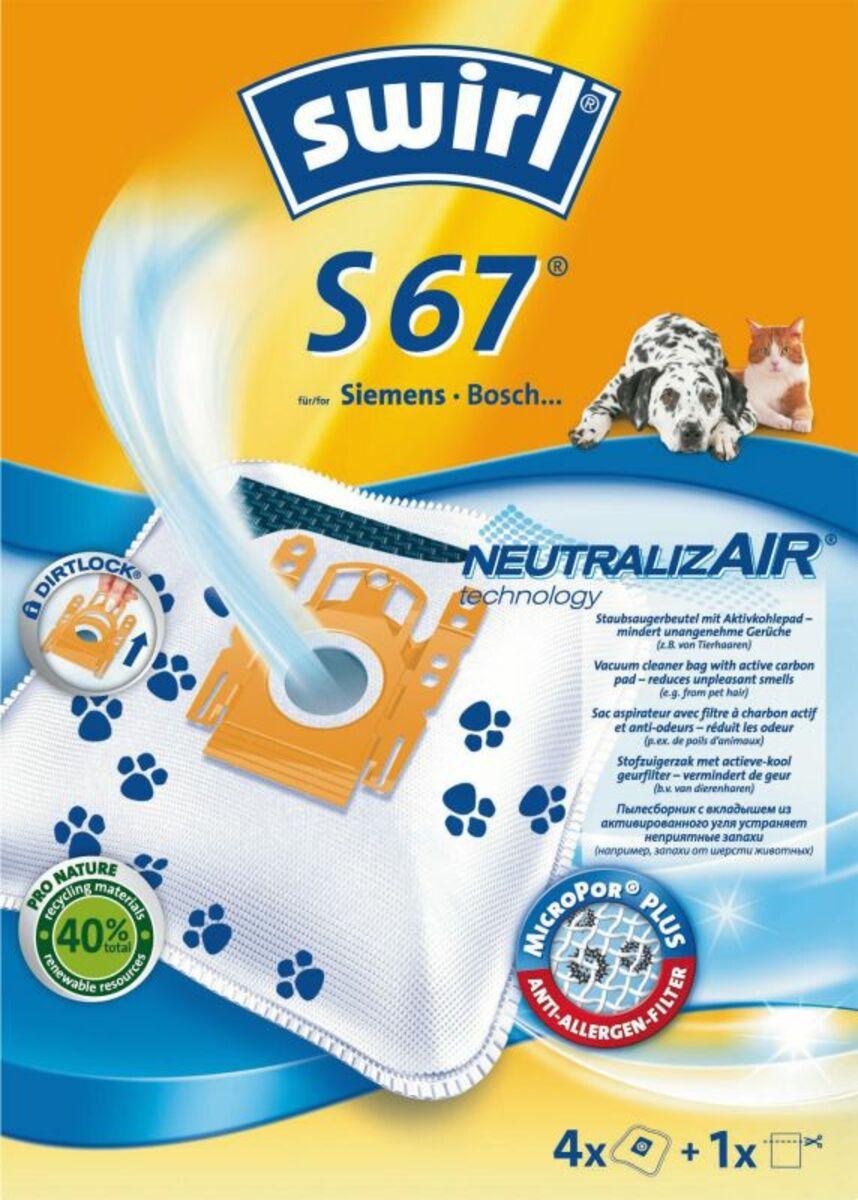 Bild 1 von Swirl S 67 MP Plus AirSpace Staubsaugerbeutel