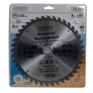 Germania Hartmetall Kreissägeblatt Ø 230 mm Holz