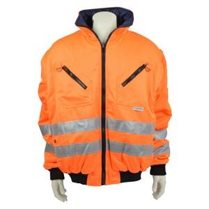 Asatex Warnschutz Pilotenjacke 2in1 5476 orange EN471 Warnschutz Arbeitsjacke
