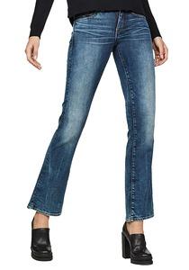 G-STAR RAW Midge Saddle Mid Skinny Bootcut - Jeans für Damen - Blau