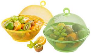SPICE & SOUL®  Obstkorb mit Haube