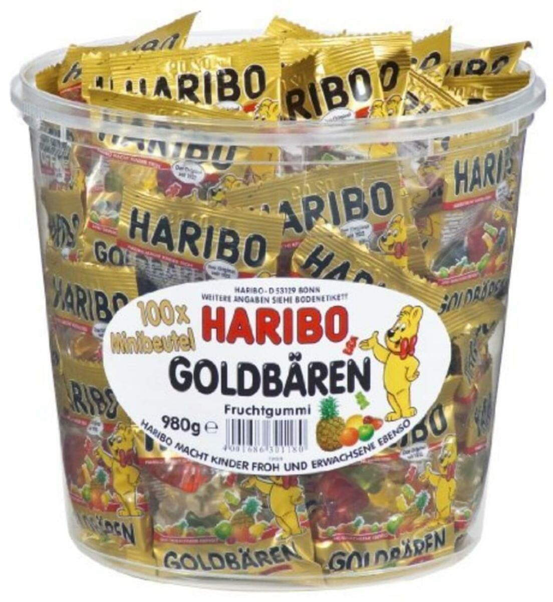Bild 4 von Haribo Goldbären Mini Beutel in Runddose, 980g