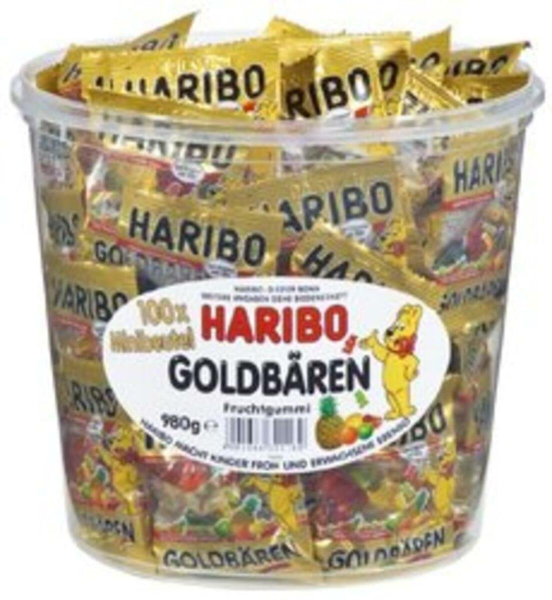 Bild 5 von Haribo Goldbären Mini Beutel in Runddose, 980g