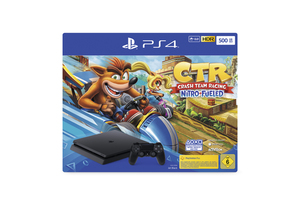 Sony PlayStation 4 500GB inkl. Crash Team Racing Nitro-Fueled