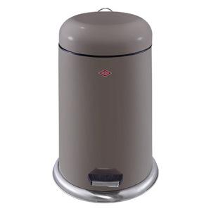 Wesco Treteimer Cap Bin, ca. 20 Liter, taupe