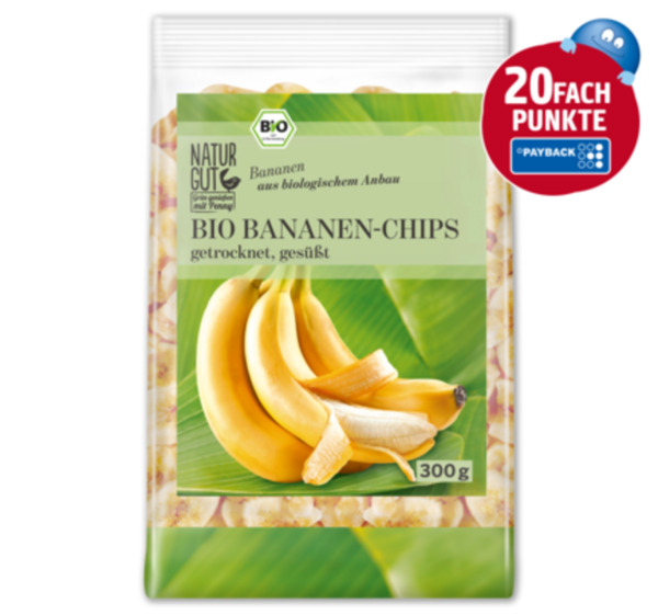 NATURGUT Bio Bananen-Chips