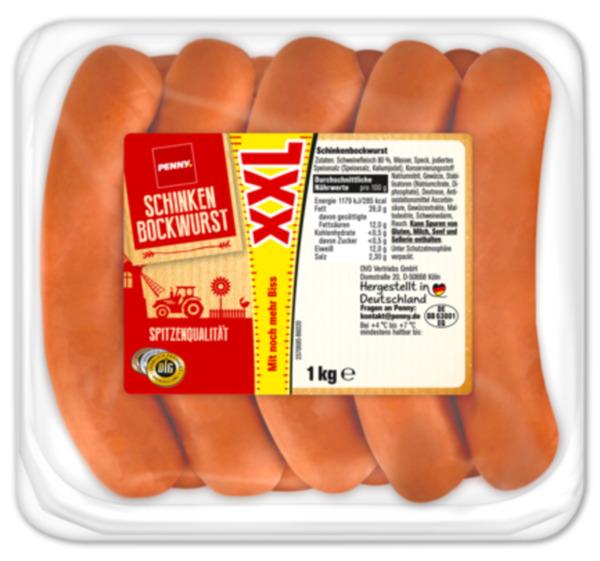 PENNY XXL Schinken Bockwurst