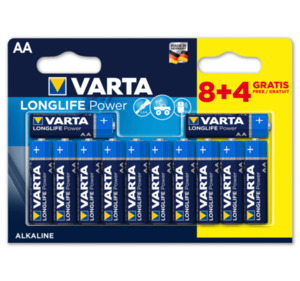 VARTA Batterien LONGLIFE POWER