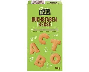Choco BISTRO Buchstabenkekse