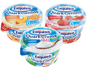 Exquisa Quark Genuss 0,2 % Fett