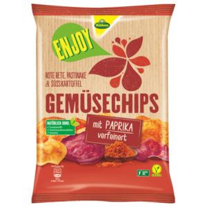 Kühne Enjoy Gemüsechips mit Paprika 75g