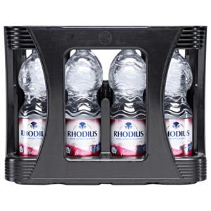 Rhodius Mineralwasser Naturelle 12x1l