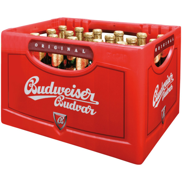 Budweiser Budvar Premium Lager 24x0,33l
