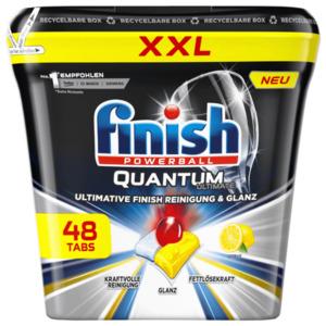 Finish Quantum Ultimate Citrus 600g, 48 Tabs