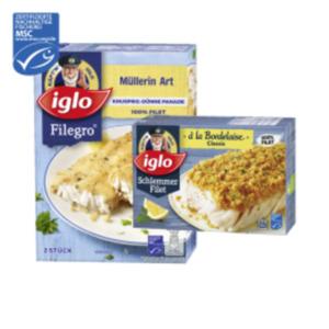 Iglo Schlemmer-Filet oder Filegro