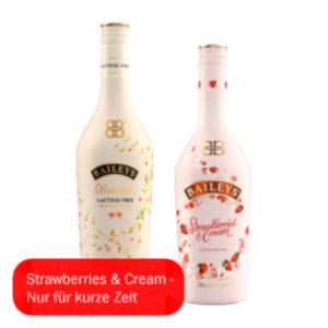 Baileys Almande oder Strawberries & Cream