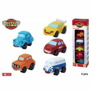 Motor Town - Spielzeugautos, 5er Pack