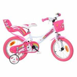 14 Zoll Kinderfahrrad Einhorn, pink