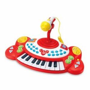 Big Steps - Super Star Keyboard mit Mikrofon
