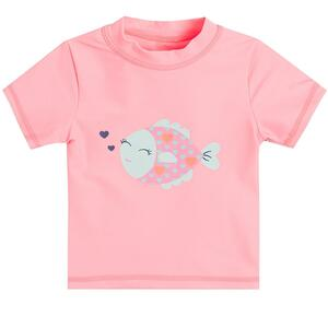 Baby Bade T-Shirt für Mädchen