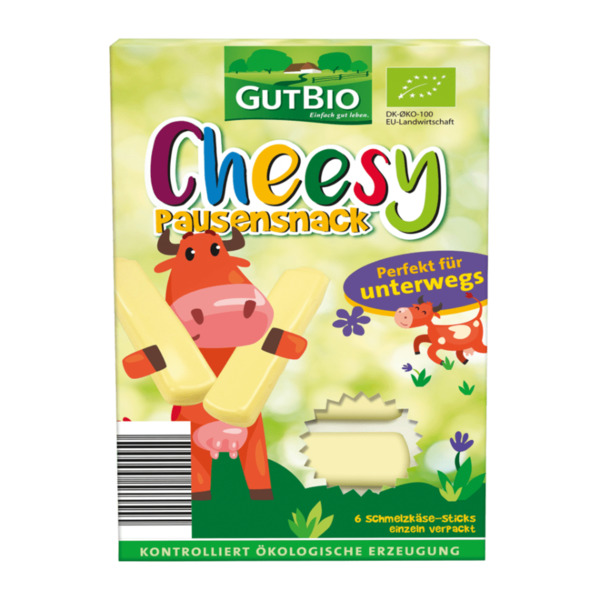 GUT BIO  	   Cheesy Bio-Schmelzkäse-Sticks