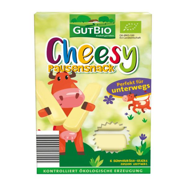 GUT BIO     Cheesy Bio-Schmelzkäse-Sticks