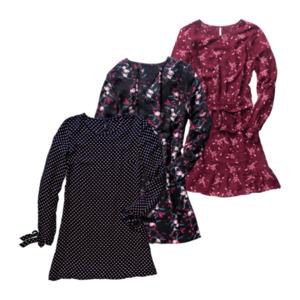 UP2FASHION     Viskose Crepe-Kleid