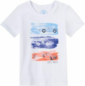 Baby T-Shirt weiß Gr. 62 Jungen Baby