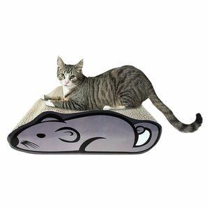 Katzenkratzbrett Maus mit Katzenminze