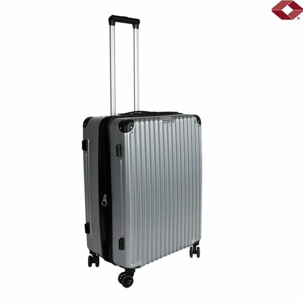 """Trolley 24"""" Business Line Silber"""