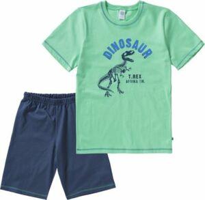 Schlafanzug grün Gr. 92 Jungen Kleinkinder