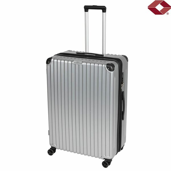 """Trolley 28"""" Business Line Silber"""