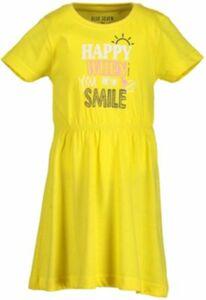 Kinder Jerseykleid gelb Gr. 98 Mädchen Kleinkinder