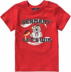 Baby T-Shirt , Fußball rot Gr. 68 Jungen Baby