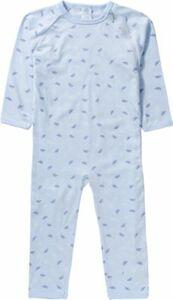 Baby Schlafanzug , Organic Cotton blau Gr. 86 Jungen Kleinkinder