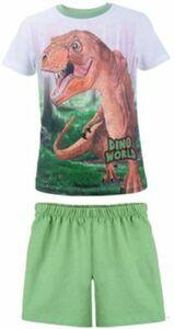 Dino World Schlafanzug grün Gr. 98 Jungen Kleinkinder